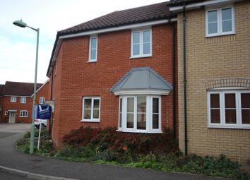 Thumbnail 3 bed terraced house to rent in Blackbird Drive, Bury St. Edmunds