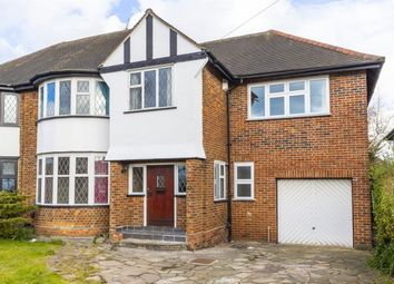 Thumbnail 4 bedroom property to rent in Grange Crescent, Chigwell