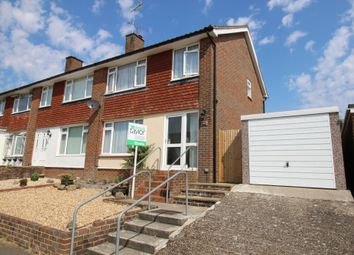 Thumbnail 3 bed semi-detached house for sale in Hillcrest Close, Ashington, Pulborough