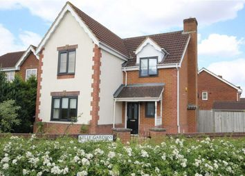 Thumbnail 4 bedroom detached house for sale in Kelly Gardens, Swindon