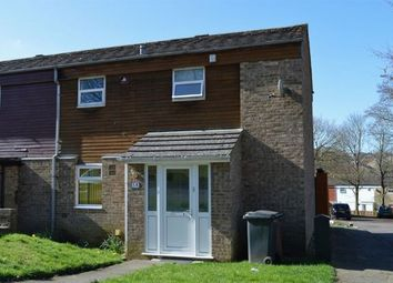 Thumbnail 2 bedroom end terrace house for sale in Wade Meadow Court, Lings, Northampton
