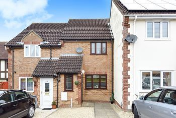 Thumbnail 2 bedroom terraced house to rent in Foxley Close, Warminster, Wiltshire