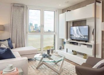 Thumbnail 1 bed flat for sale in Telcon Way, London