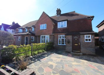 Thumbnail 2 bed semi-detached house for sale in Tangier Way, Burgh Heath, Tadworth