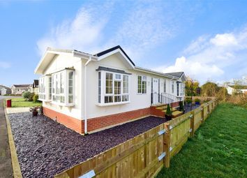 Thumbnail 2 bed mobile/park home for sale in Cornbrook Road, Willow Tree Farm, Hythe, Kent