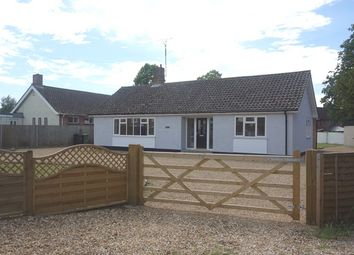 Thumbnail 4 bedroom detached bungalow to rent in Bury Road, Thetford