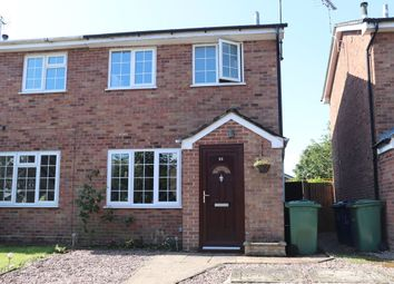 Thumbnail 2 bed semi-detached house for sale in The Burgage, Eccleshall, Stafford