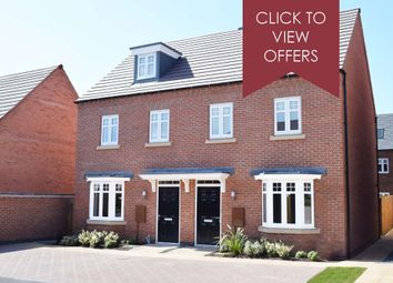 """Thumbnail 3 bed terraced house for sale in """"Kennett"""" at Forest Road, Burton-On-Trent"""