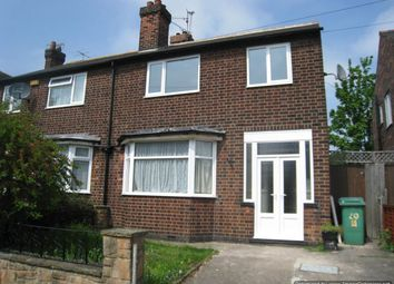 Thumbnail 3 bed semi-detached house to rent in Caythorpe Rise, Nottingham