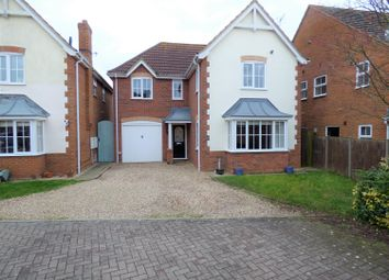 Thumbnail 4 bed detached house for sale in Stutte Close, Louth