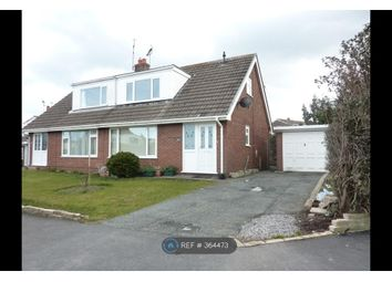 Thumbnail 3 bed semi-detached house to rent in Troon Way, Colwyn Bay