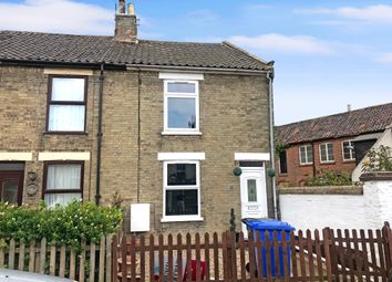 Thumbnail 2 bed end terrace house for sale in High Street, Kessingland, Lowestoft