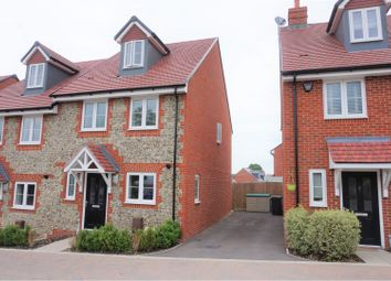Thumbnail 3 bed semi-detached house for sale in Lynch Close, Havant