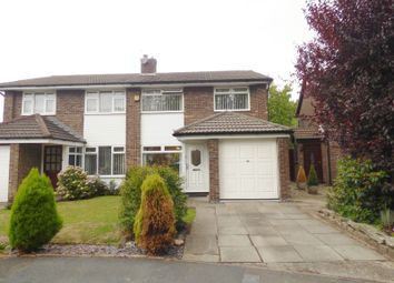 Thumbnail 3 bed semi-detached house for sale in Sycamore Lane, Great Sankey, Warrington