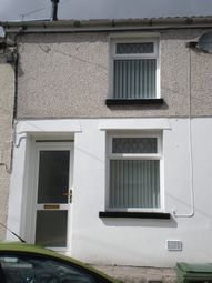 Thumbnail 1 bed terraced house to rent in Belle Vue Street, Trecynon, Aberdare