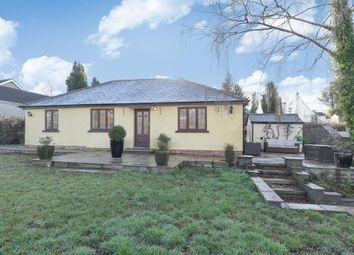 Thumbnail 3 bed detached bungalow for sale in Hazelmere, Cwmcrawnon Road, Llangynidr, Powys NP8,
