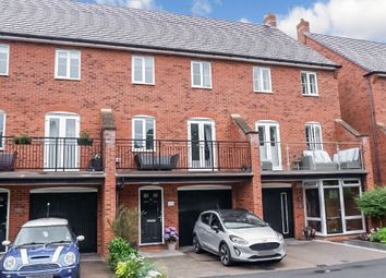 Thumbnail 4 bed town house for sale in The Laurels, Fazeley, Tamworth