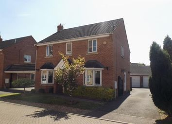 Thumbnail 4 bed detached house for sale in Crystal Drive, Peterborough, Cambridgeshire