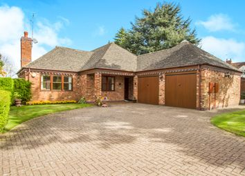Thumbnail 3 bed detached bungalow for sale in Bramley Orchard, Bushby, Leicester