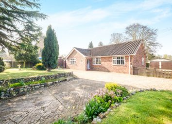 Thumbnail 3 bed detached bungalow for sale in Church Road, Flixton, Bungay