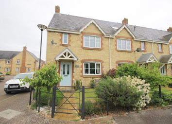 Thumbnail 3 bed end terrace house for sale in Mayfly Road, Oakhurst, Swindon