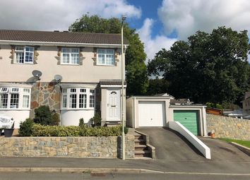 Thumbnail 3 bed semi-detached house for sale in Ty Gwyn Drive, Brackla, Bridgend