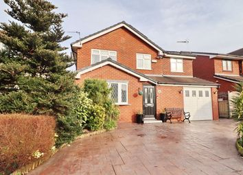 Thumbnail 5 bed detached house for sale in Vicars Hall Gardens, Boothstown, Worsley