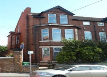 Thumbnail 3 bed flat to rent in Foxhall Road, Nottingham