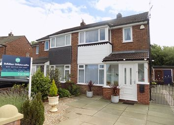 Thumbnail 3 bed semi-detached house for sale in Severn Road, Culcheth, Warrington
