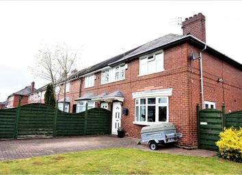 Thumbnail 3 bed end terrace house for sale in Shelford Avenue, Manchester