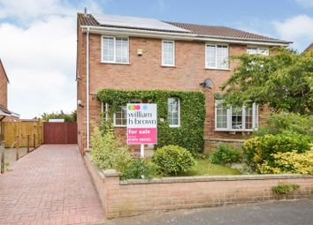 Thumbnail 3 bed semi-detached house for sale in Fourth Avenue, Grantham