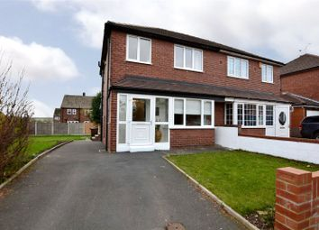 Thumbnail 3 bed semi-detached house for sale in Highfield Crescent, Woodlesford, Leeds, West Yorkshire