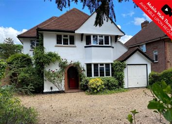 Thumbnail 4 bed detached house for sale in Watchetts Drive, Camberley, Surrey