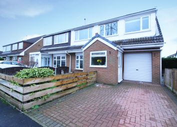 Thumbnail 4 bed semi-detached house for sale in Kings Drive, Padiham, Lancashire