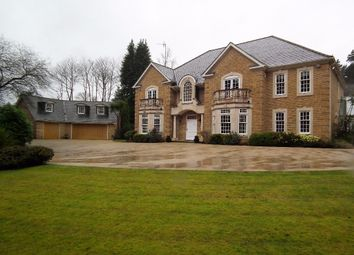 Thumbnail 5 bed country house to rent in Westwood Road, Windlesham