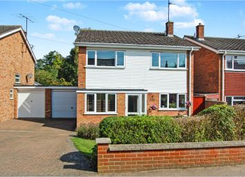 Thumbnail 4 bed detached house for sale in Court Lane, Stevington