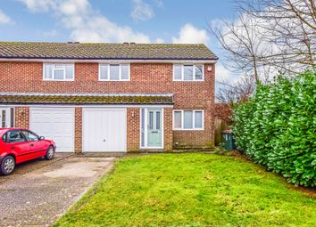 Thumbnail 3 bed semi-detached house for sale in Horseshoe Close, Worth, Crawley