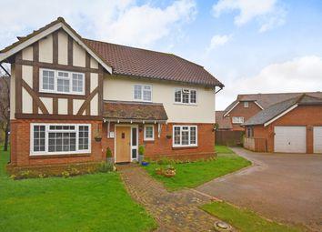 Thumbnail 4 bed detached house for sale in Fulmar Mews, Hawkinge, Folkestone