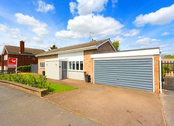 Thumbnail 3 bed detached bungalow for sale in Priory Walk, Leicester Forest East, Leicester