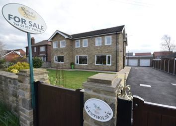 Thumbnail 5 bed detached house for sale in Selby Road, Eggborough, Pontefract