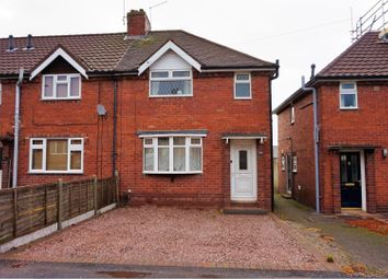 Thumbnail 3 bed end terrace house for sale in Newman Grove, Brereton, Rugeley