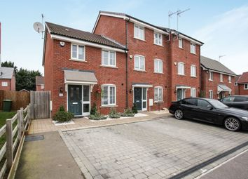 Thumbnail 3 bedroom end terrace house for sale in Fossett Grove, Dunstable