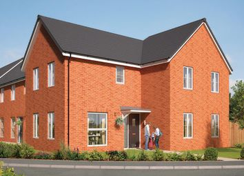 "Thumbnail 4 bed detached house for sale in ""The Hartlebury"" at Great Melton Road, Hethersett, Norwich"