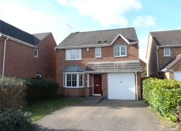 Thumbnail 4 bed detached house for sale in Douglas Bader Drive, Lutterworth