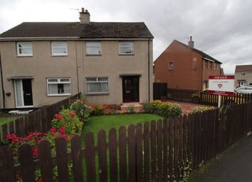 Thumbnail 2 bed semi-detached house for sale in Devonview Place, Airdrie, North Lanarkshire