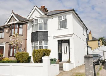 Thumbnail 3 bedroom semi-detached house for sale in Beacon Down Avenue, Plymouth