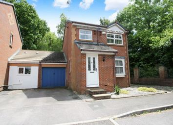 Thumbnail 3 bed detached house for sale in Hatch Mead, West End, Southampton