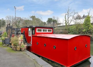 Thumbnail 1 bed houseboat for sale in Ham Wharf, The Ham, Brentford