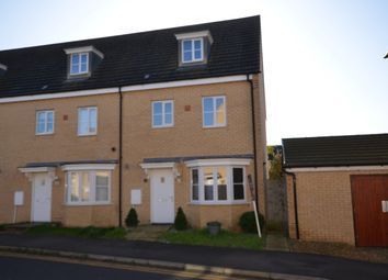 Thumbnail 4 bedroom end terrace house to rent in Apollo Avenue, Peterborough
