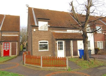 Thumbnail 2 bedroom end terrace house to rent in Clover Hill, Norwich